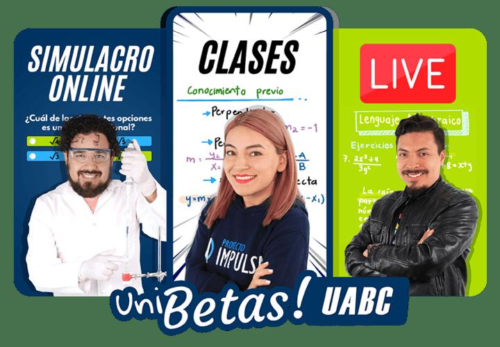 curso examen uabc online UNIBETAS admisiones uabc